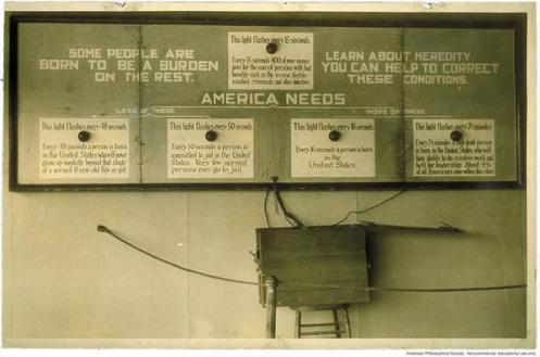 1926 Eugenics Exhibit