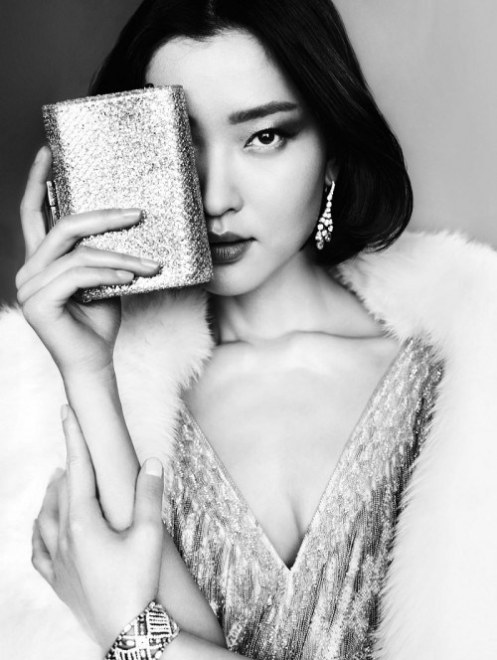 "Du Juan for Vogue China. She is touted as the ""first Chinese international supermodel""."