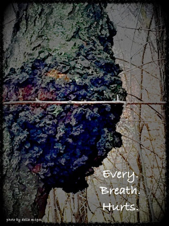every breath hurts